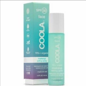 New COOLA Makeup Setting Spray SPF 30